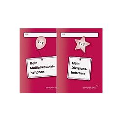 Mein Multiplikationsheftchen / Mein Divisionsheftchen  2 Hefte. Katrin Langhans  - Buch
