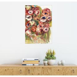 Posterlounge Wandbild, Blumen in einem Gewächshaus 60 cm x 80 cm