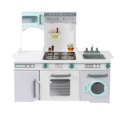 BAYER CHIC 2000 Spielküche weiß/grau/mint
