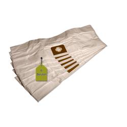 eVendix Staubsaugerbeutel 6 Staubsaugerbeutel passend für Parkside PNTS 1500 D5, passend für Parkside