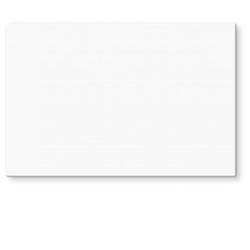 Wall-Art Herd-Abdeckplatte Spritzschutz Küchenwand Weiß, Glas, (1 tlg) 80 cm x 60 cm x 0,4 cm