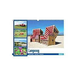 Langeoog - Sommer, Sonne, Strand (Wandkalender 2021 DIN A3 quer)