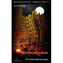 Krimidinner als Buch von Hartmut Wiedling