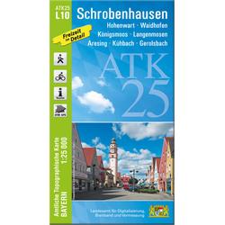 Schrobenhausen 1 : 25 000