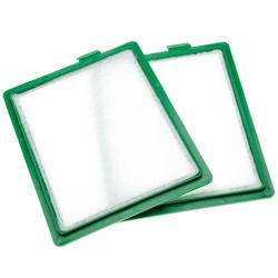 vhbw 2x Staubsaugerfilter passend für AEG AET 7740, 7750, 7770 Staubsauger; Mikrofilter