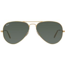 Ray Ban Aviator RB3025 001/58 58-14 polished gold/green