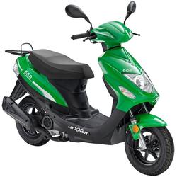 Luxxon Motorroller Eco, 49 ccm, 45 km/h, Euro 4 grün