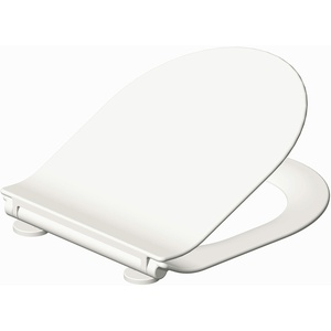 Grünblatt Premium WC Sitz Duroplast Toilettendeckel Klobrille Absenkautomatik Toilettensitz abnehmbar zur Reinigung (Star)