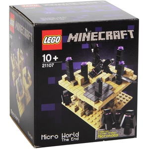 Lego Minecraft Microworld 21107 - The End / Das Ende [UK Import]