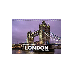 Großbritannien - London (Tischkalender 2021 DIN A5 quer)