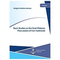 Basic Studies on the Dual-Polymer Flocculation of Iron Hydroxide. Adegbite Adeleke Adesipo  - Buch