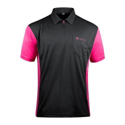 Target Coolplay Hybrid 3 Darthemd black & pink 5XL
