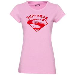 GOZOO x Supergirl und Superman Damen T-Shirt GZ-1-SUP-247-F-PM-1 - L
