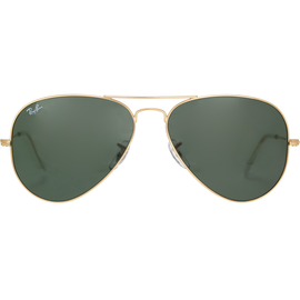 Ray Ban Aviator Large Metal RB3025 58mm gold / classic green