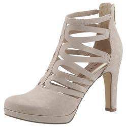 Tamaris High-Heel-Stiefelette im sommerlichen Design natur 39
