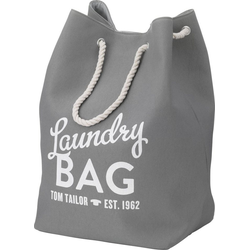 TOM TAILOR Wäschesack LAUNDRY BAG grau