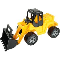 Lena® Spielzeug-Radlader Giga Trucks, Aufsitz-Schaufellader