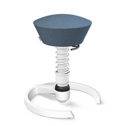 3D-Aktiv-Bürodrehstuhl Swopper aeris blau, Designer Henner Jahns, 52-66 cm
