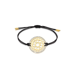 Armband Sahasrara Chakra Kristalle 925 Silber Nenalina Gold