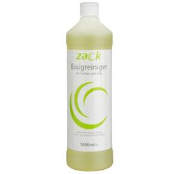 ZACK Essigreiniger, Für alle wasser- & säurebeständigen Flächen, 1 Karton = 12 Flaschen á 1000 ml