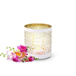 Sendez Teelichthalter Sendez 2er Set Teelichthalter aus Porzellan Kerzenhalter Windlicht Teelicht Teelichter