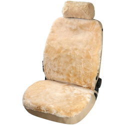 WALSER Set: Autositzbezug Iva, aus Lammfell natur