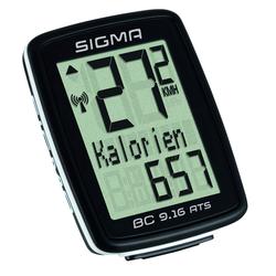 Sigma BC 9.16 ATS - Tacho - schwarz