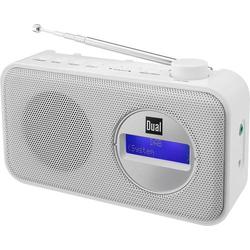 Dual DAB 84 Kofferradio DAB+, UKW Weiß