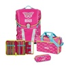 Scout Sunny 4-tlg. Pink Butterfly mit Sporttasche
