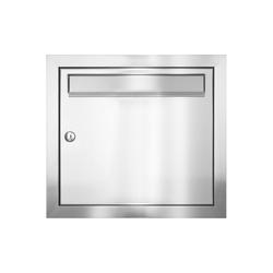 MOCAVI Briefkasten MOCAVI UP1 Unterputz-Briefkasten aus V2A-Edelstahl, gebürstet