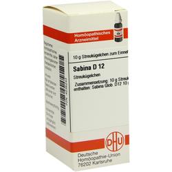 Sabina D 12 Globuli