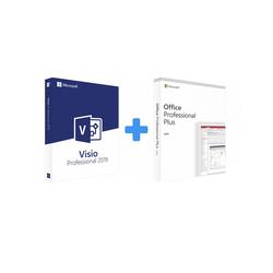 Visio 2019 Professional + Office 2019 Professional Plus (Bundle)
