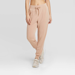 Women's Slounge Trousers - JoyLab Dusty Peach S, Dusty Pink