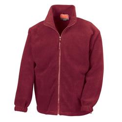 Result Fleecejacke Polartherm™ Active Fleece Jacke RT36 rot XS