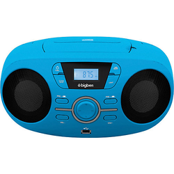 Tragbares CD/Radio CD61 USB, blau
