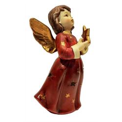 G. Wurm Teelichthalter Engel mit Stern Teelicht