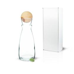Zirbelino Glas Wasserkaraffe, Glas, Hochwertiges Kristallglas weiß