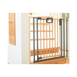 Geuther Treppenschutzgitter Treppenschutzgitter Easy Lock Wood, Holz / Metall,