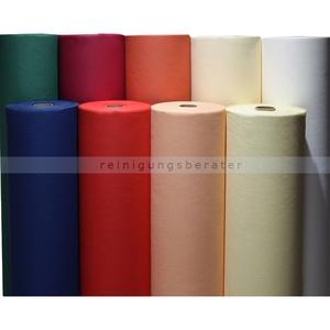 AIRLAID Zellstoffvlies Tischdeckenrolle 75 m x 120 cm weiß Tischdecke zum selber zuschneiden, 1 Rolle, 60 g/qm