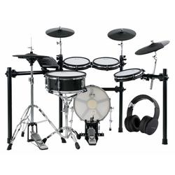 XDrum DD-650 Mesh E-Drum Kit Kopfhörer Set
