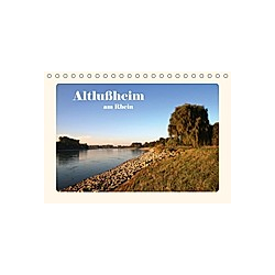 Altlußheim am Rhein (Tischkalender 2021 DIN A5 quer)