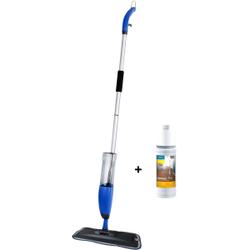 Dr. Schutz® SprayMop Wischset AKTION, Ideales Wischgerät für die tägliche Reinigung aller Hartböden, Wischgerät + Mopp + 1 x 1000 ml Spraymax