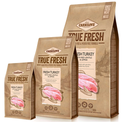 Carnilove Hund True Fresh Truthahn - 4 kg