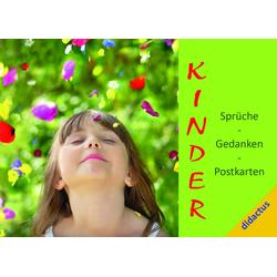 Kinder - Sprüche Gedanken Postkarten