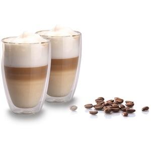 My Home 2er Set doppelwandige Latte Macchiato Gläser