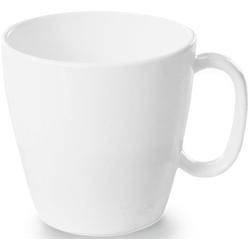 WACA Tasse (4-tlg), Kunststoff, 230 ml weiß