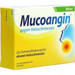 Mucoangin Minze 20mg Lutschtabletten