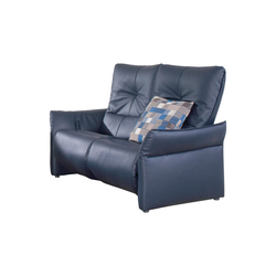 himolla 2-Sitzer Cumuy in Leder Rustica blau