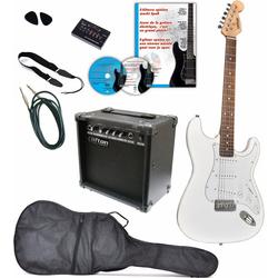 Clifton E-Gitarre E-Gitarren Set, 10 teilig, Komplettset