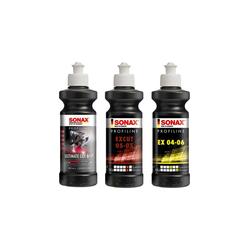 Sonax Profiline 3er Politur Set für Exzenter - 250ml